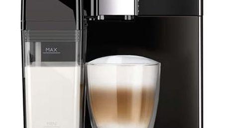 Espresso Philips EP3551/00 černé + dárek Káva zrnková Simon Lévelt BIO Uganda 250 g v hodnotě 159 Kč + DOPRAVA ZDARMA