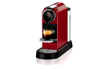 Krups Nespresso Citiz XN740510 červené