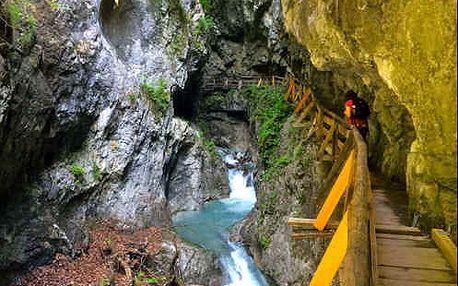 Nádherný turistický zájezd do Rakouska, kde objevíte krásy divoké Ptáčí soutěsky. S dopravou a průvodcem.