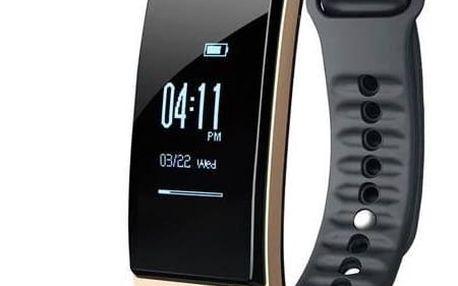 Fitness náramek CUBOT S1 černý/zlatý (ACU035)