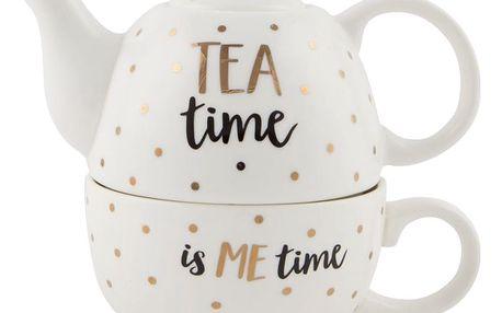 Konvička s hrnkem Sass & Belle Tea Time