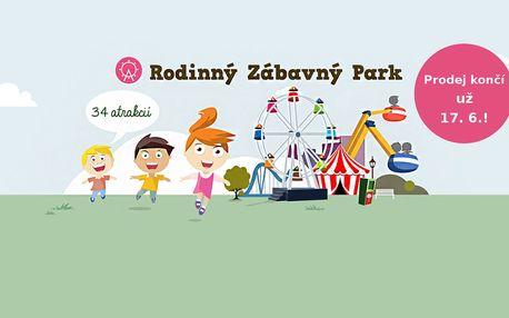 Jaro a léto v polském Rabkolandu s celodenními vstupy