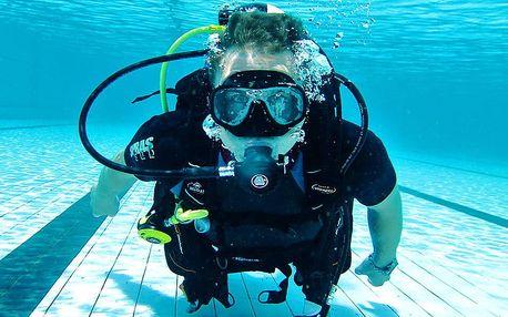 Ponor na zkoušku: staňte se na 60 minut opravdovým potápěčem