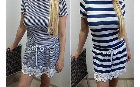 Dámské námořnické šaty Maggie