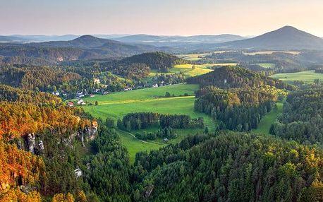 Kremnické vrchy v penzionu s polopenzí