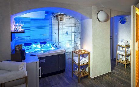 Privátní sauna či vířivka ve wellness U Gigantu