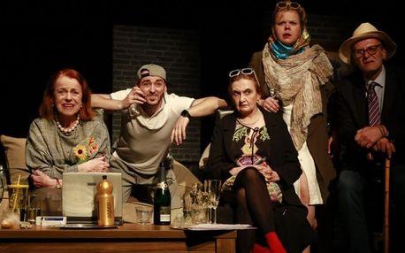 Vstupenka na divadelní hru Veletoč v Adalbertinu