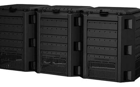 CEV 1200 l COMPOGREEN (3 x 400 l) ČER černý