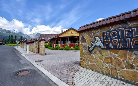 Oblíbený Hotel Amalia ***+ s wellness pod Tatrami