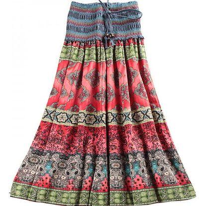 Pestrobarevná sukně/šaty