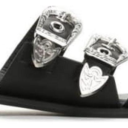 Dámské černé pantofle Nancy 2165