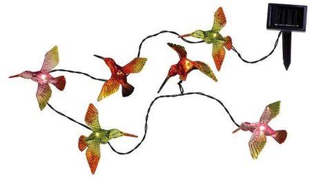 Venkovní světelný LED řetěz Best Season Birds, 6 světýlek