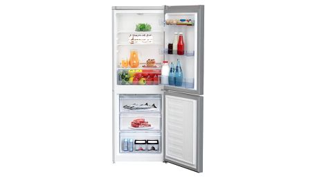 Chladnička s mrazničkou Beko CSA 240 K20XP nerez