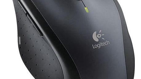 Myš Logitech M705 Marathon (910-001949) černá/šedá / laserová / 7 tlačítek / 1000dpi