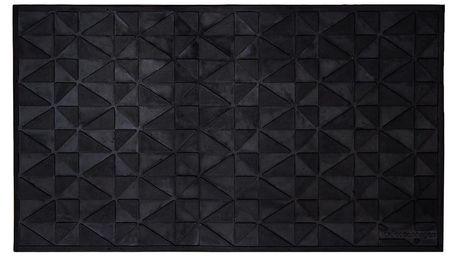 Gumová čistící rohožka Tica Copenhagen Graphic, 45x75cm