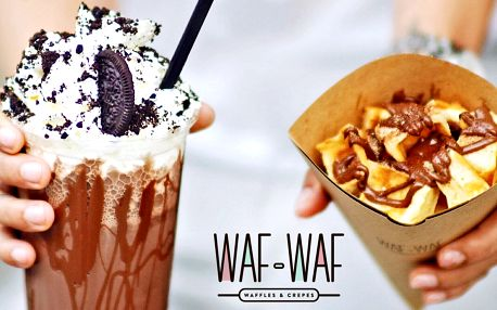 Sladký hit: Waf&cut a mléčný shake dle chuti