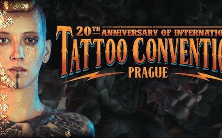 Vstupenka na festival Tattoo Convention 2018