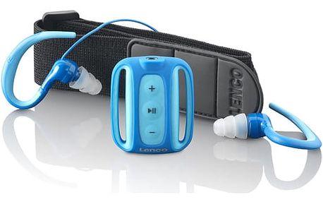 MP3 přehrávač Lenco Xemio 1000 modrý (lx1000)