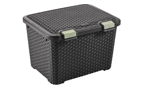 CURVER STYLE BOX 32306 Plastový úložný - 43L - hnědý