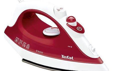 Žehlička Tefal FV1251E0 bílá/červená