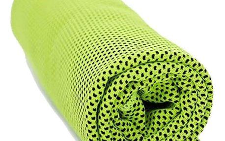 Modom Chladicí ručník zelená, 90 x 32 cm