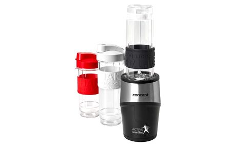 CONCEPT SM3385 smoothie maker Active Smoothie 500 W černý 2 x 570 ml + 400 ml