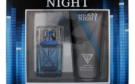 GUESS Night EDT dárková sada M - EDT 50 ml + sprchový gel 200 ml