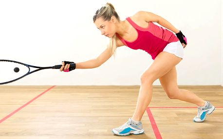 Rozcvička: Hodinový pronájem kurtu na squash