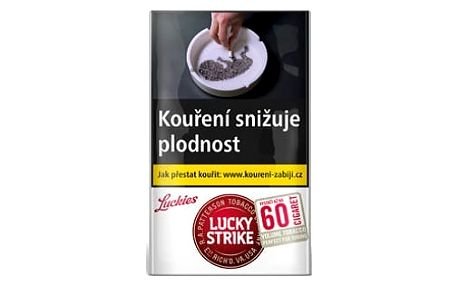 Tabák cigaretový Lucky Strike Core 30g