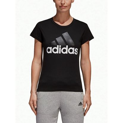 Tričko adidas Performance Ess Li Sli Tee Černá
