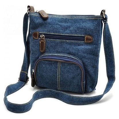 Crossbody kabelka - džínová