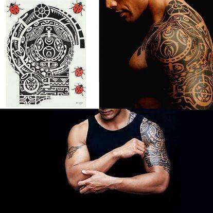 Maorské dočasné tetování