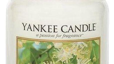 Yankee Candle Svíčka Yankee Candle 623gr - Lípa, bílá barva, sklo, vosk