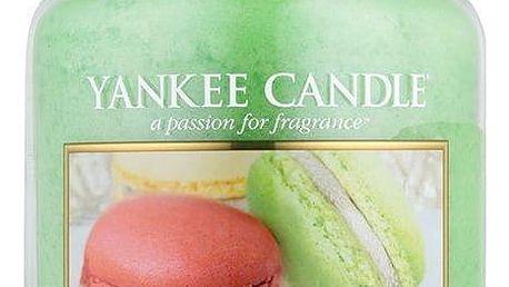 Yankee Candle Svíčka Yankee Candle 623gr - Makronky, zelená barva, sklo, vosk