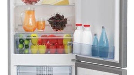 Chladnička s mrazničkou Beko CNA 295 K20X nerez