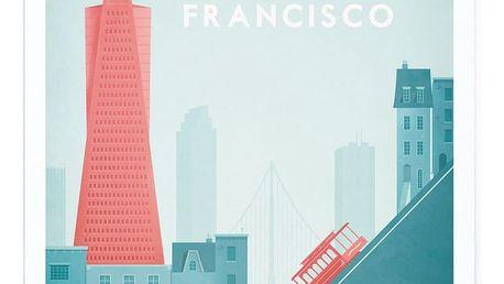 Plakát Travelposter San Francisco, A3