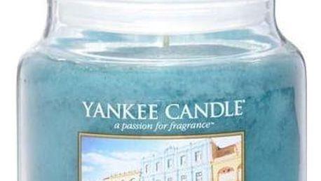 Yankee Candle Svíčka Yankee Candle 411gr - Viva Havana, modrá barva, sklo, vosk