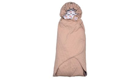 LODGER Zavinovačka Wrapper Clever Quilt – Nude