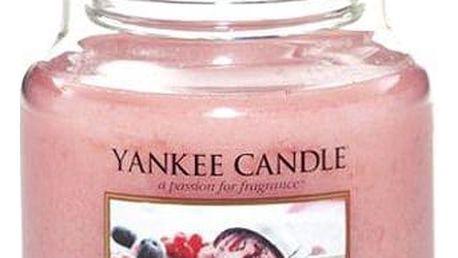 Yankee Candle Svíčka Yankee Candle 411gr - Summer Scoop, růžová barva, sklo, vosk