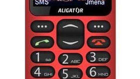 Aligator A880 GPS Senior (A880RD) červený