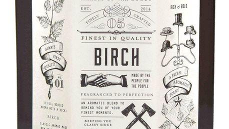 Makers of Wax Goods Vonná svíčka ve skle Birch 315g, hnědá barva, sklo, dřevo