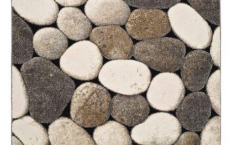 Šedý koberec Universal Pebble, 60x120cm