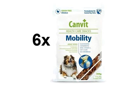 Canvit Snacks Mobility 6 x 200g