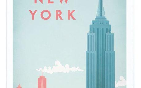 Plakát Travelposter New York,A3