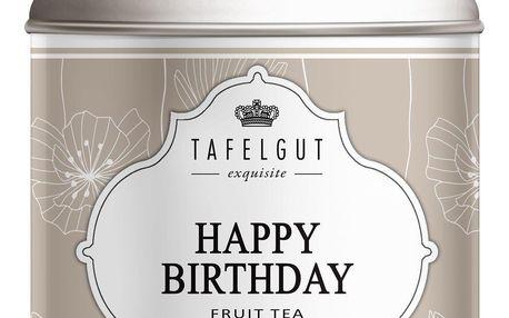TAFELGUT Mini ovocný čaj Happy Birthday Tea - 45gr, béžová barva, kov