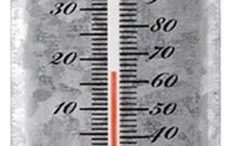 Nástěnný venkovní teploměr EsschertDesign, 30x6,7cm