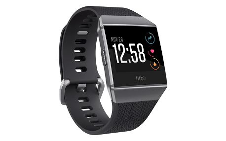 Chytré hodinky Fitbit Ionic - Charcoal/Smoke Gray (FB503GYBK-EU)
