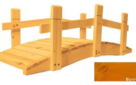 Gaboni 55242 Zahradní dřevěný můstek - 71 cm - BOROVICE