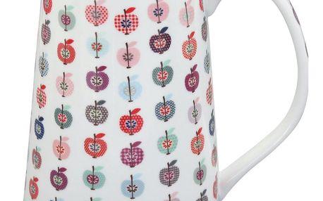 Krasilnikoff Džbán Apple, multi barva, porcelán