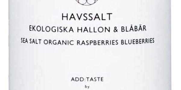 ADD:WISE Ovocná mořská sůl 260gr, růžová barva, čirá barva, sklo